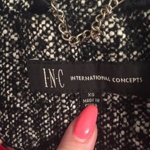 INC International Concepts Jackets & Coats - INC winter dress coat  wool blend
